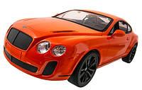 Машинка р/у 1:14 Meizhi лиценз. Bentley Coupe (оранжевый) СЕРТИФИКАТ В ПОДАРОК