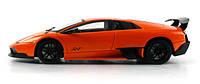 Машинка р/у 1:18 Meizhi лиценз. Lamborghini LP670-4 SV металлическая (оранжевый) СЕРТИФИКАТ В ПОДАРОК
