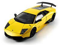 Машинка р/у 1:18 Meizhi лиценз. Lamborghini LP670-4 SV металлическая (желтый) СЕРТИФИКАТ В ПОДАРОК