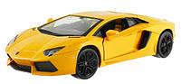 Машинка р/у 1:24 Meizhi лиценз. Lamborghini LP700 металлическая (желтый) СЕРТИФИКАТ В ПОДАРОК