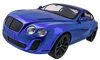 Машинка р/у 1:14 Meizhi лиценз. Bentley Coupe (синий) СЕРТИФИКАТ В ПОДАРОК