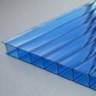 Листы поликарбоната синий 4мм Oscar (Оскар)