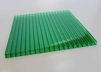 Сотовый поликарбонат зеленый 4мм Oscar (Оскар)