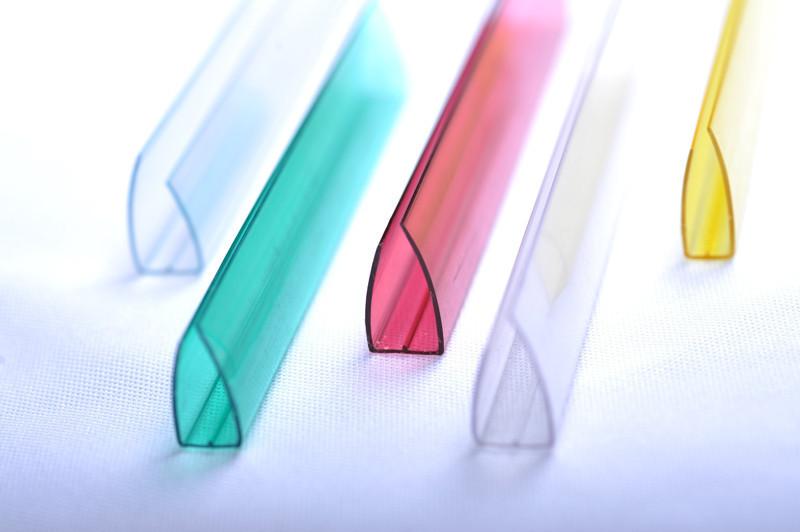 UP-Торцевой профиль 6мм цветной