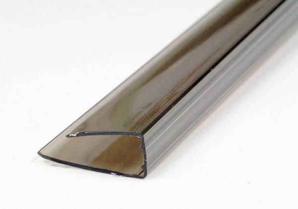 UP-Торцевой профиль 16мм бронза, фото 2