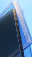 Монолитный поликарбонат 10мм бронза BORREX