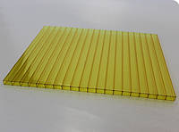 Сотовый поликарбонат желтый 6мм Oscar (Оскар)