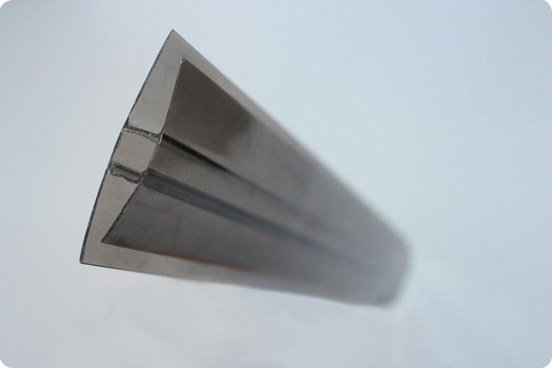 НР-Соединительный профиль для поликарбоната бронза 8мм