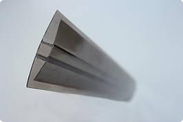 НР- Соединительный профиль бронза 10мм по поликарбонату
