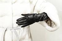Перчатки кожаные женские длинные
