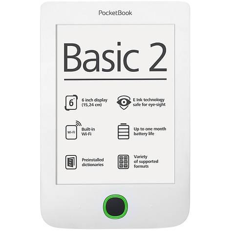Электронная книга Pocketbook Basic 2 (614) White, фото 2