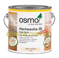 Масло с твердым воском матовое, Hartwachs-Öl matt 3062. 10л.