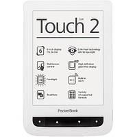 Электронная книга с подсветкой Pocketbook Touch Lux 2 (626) White