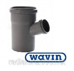 Тройник Wavin 110x50/67°