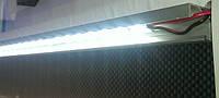 Крепление светодиодной ленты при помощи алюминиевого профиля