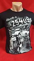 Стильная мужская футболка, M-2XL размер, 155\130