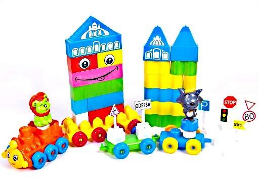 Конструктор для малюків 64 дет., Kinder Way 02-302