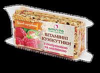 Витаминные кунжутики amrita® с клубникой и малиной, 45 г (одна упаковка – 3 пластинки)