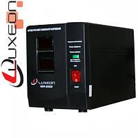 Стабилизатор напряжения релейный LUXEON SDR-3000, 3000VA, 1800ВТ, LCD, 6 ступеней, 140-260V, 220 ± 8%, 2 Shuko