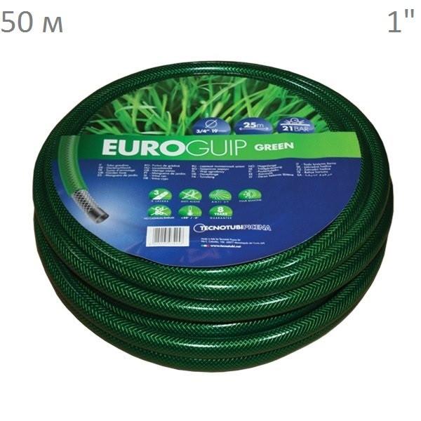 "Шланг 1"" TecnoTubi Euro GUIP Green 50 м."