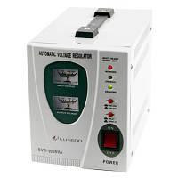 Стабилизатор напряжения релейный LUXEON SVR-1000, 1000VA, 700ВТ, Analog, 6 ступеней, 140-260V, 220 ± 7%, 1 Shu