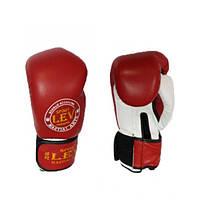 Перчатки боксерские Стрейч Лев LV-4281
