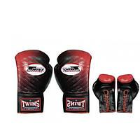 Перчатки боксерские Кожа на шнуровке TWINS FBGLL-TW1