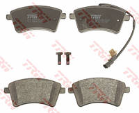 Тормозные колодки передние (с датчиком) на Renault Kangoo II 2008-> — TRW (США / Германия) - GDB1941