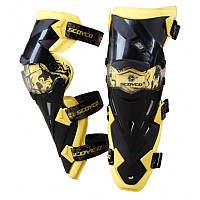 Мотозащита (колено, голень) 2 шт SCOYCO К12-Y