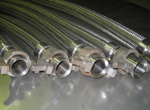 Металорукав криогенний Ду-40 з гайками РОТ 3,5 м