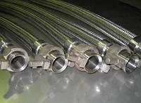 Металлорукав криогенный Ду-65 с гайками РОТ 6м