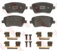 Тормозные колодки передние на Renault Kangoo II 2008-> — TRW (США / Германия) - GDB3332