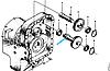 Вал-шестерня насоса управления рабоч системы ( 3100/1010) ZL40A.30-9 403610D/3030900094, фото 2