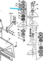 Седло подшипника ZL50E.6-3