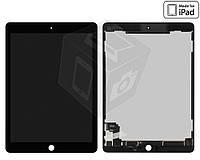 Дисплейный модуль (дисплей + сенсор) для iPad Air 2, черный, оригинал