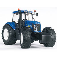 Игрушка Bruder трактор New Holland T8040 1:16  (03020)  , фото 1