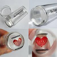 Прозрачные штампы для стемпинга EL Corazon