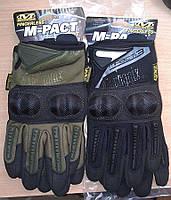Отличные тактические перчатки Mechanix M-Pact 3 чёрного цвета