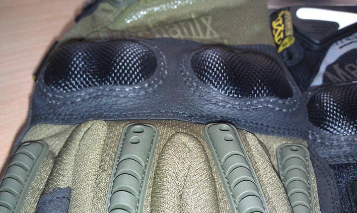 Отличные тактические перчатки Mechanix M-Pact 3 чёрного цвета , фото 2