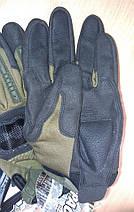 Отличные тактические перчатки Mechanix M-Pact 3 чёрного цвета , фото 3