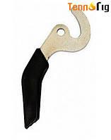 Ручка-крючок для твердотопливного котла
