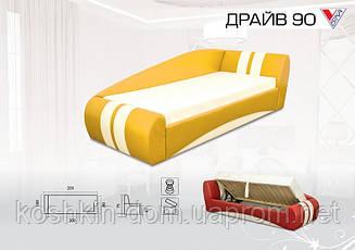 Кровать Драйв 90, с матрасом