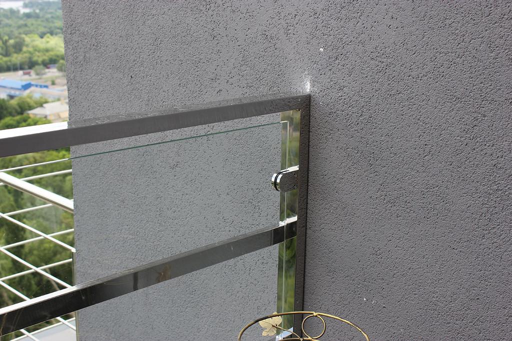 Ограждение со стеклом: проектирование, монтаж и изготовление 2