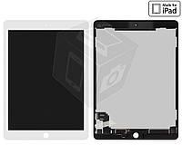 Дисплейный модуль (дисплей + сенсор) для iPad Air 2, белый, оригинал