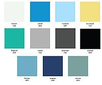 Отрез пленка ПВХ Elbeblau однотонного цвета 1,65/2,0м
