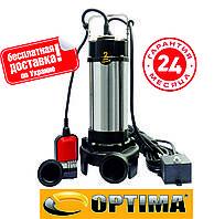 Насос фекальный с режущим механизмом Optima V1100 DF 1.1 кВт, фото 1
