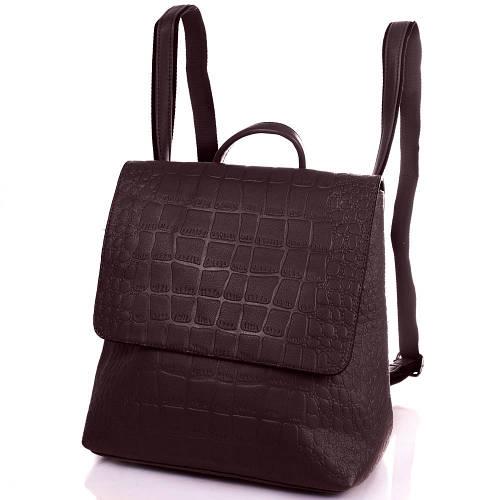 Стильная сумка-рюкзак женская из качественного кожезаменителя ANNA&LI (АННА И ЛИ) TUP14471-10