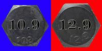Различия болтов прочностью 10.9 и прочностью 12.9