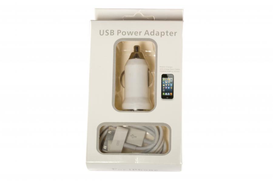 Зарядное устройство для смартфонов APPLE АВТО ЗУ 2-in-1 10W для iPhone