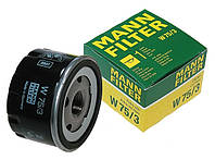 Фильтр масляный MANN-FILTER, W 75/3 (made in Germany) 7701473327 7700734945